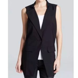 Eileen Fisher Project Sleeveless Suit Jacket